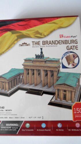 neu, 40cm breit Berlin Brandenburg Gate Cubic Fun 3D Puzzle Brandenburger Tor