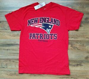 8b6e7b9a Details about NEW NFL Team Apparel New England Patriots Football Logo  T-Shirt Mens Medium