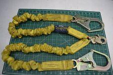 Dbi Sala Shockwave 2 Twin Leg Fall Arrest Safety Lanyard Shock Absorbing 6ft