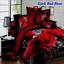 4Pcs-3D-Bedding-Set-Queen-Size-Quilt-Duvet-Cover-Bed-Sheet-Pillowcases-Bedroom thumbnail 12