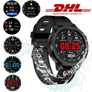 Smartband Pulsuhr Blutdruck EKG PPG Fitness Armband Tracker Smartwatch Sportuhr