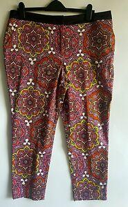 M-amp-S-Ladies-Psychedelic-Boho-Ethnic-Hippie-Trousers-UK-16