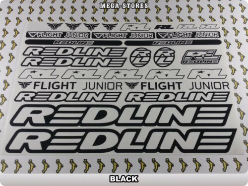 REDLINE Stickers Decals Bicycles Bikes BMX MTB Cycles DIFFERENT COLORS 61O