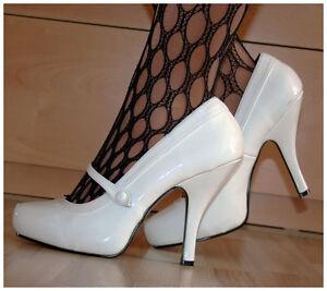 High-Heels-Gr-40-US10-Pleaser-Pin-Up-Cutie-02-Plateaupumps-Lackpumps-1576
