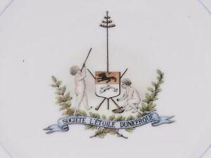 06D43-Antigua-Plato-Sociedad-de-039-Estrella-Dunkerque-Juegos-Norte-Flandes-1887