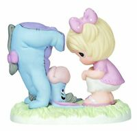 Precious Moments Disney Girl With Upside Down Eeyore Figurine, New, Free Shippin on sale