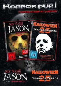 25-YEARS-DE-TERROR-Michael-Myers-amp-Jason-HALLOWEEN-VENDREDI-DER-13-2-Boite-DVD