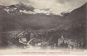 St-Gervais-Le-Fayet-les-Bains-l-039-Abbaye-et-l-039-Hotel-de-Savoie-Haute-Savoie-CPA