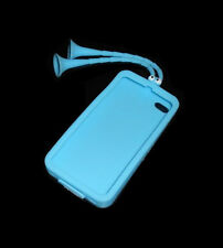 NEW BLUE ALIEN TENTACLES SILICONE GEL APPLE IPHONE 4 4S CASE SUPER FAST SHIPPING