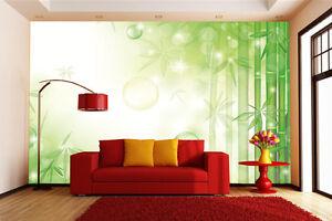 3d Bambous Soleil 7 Photo Papier Peint En Autocollant Murale Plafond Chambre Art ChronoméTrage Ponctuel