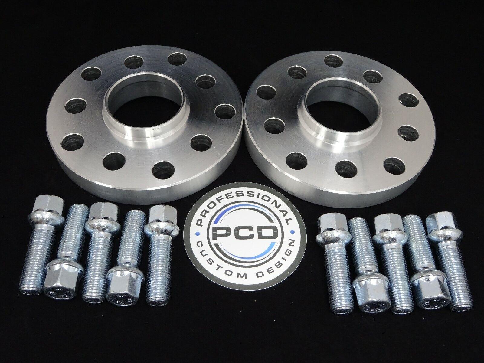 Espaciadores hubcentric 15mm para Audi TT A3 con pernos de RADIUS 5x100 y 5x112 S3