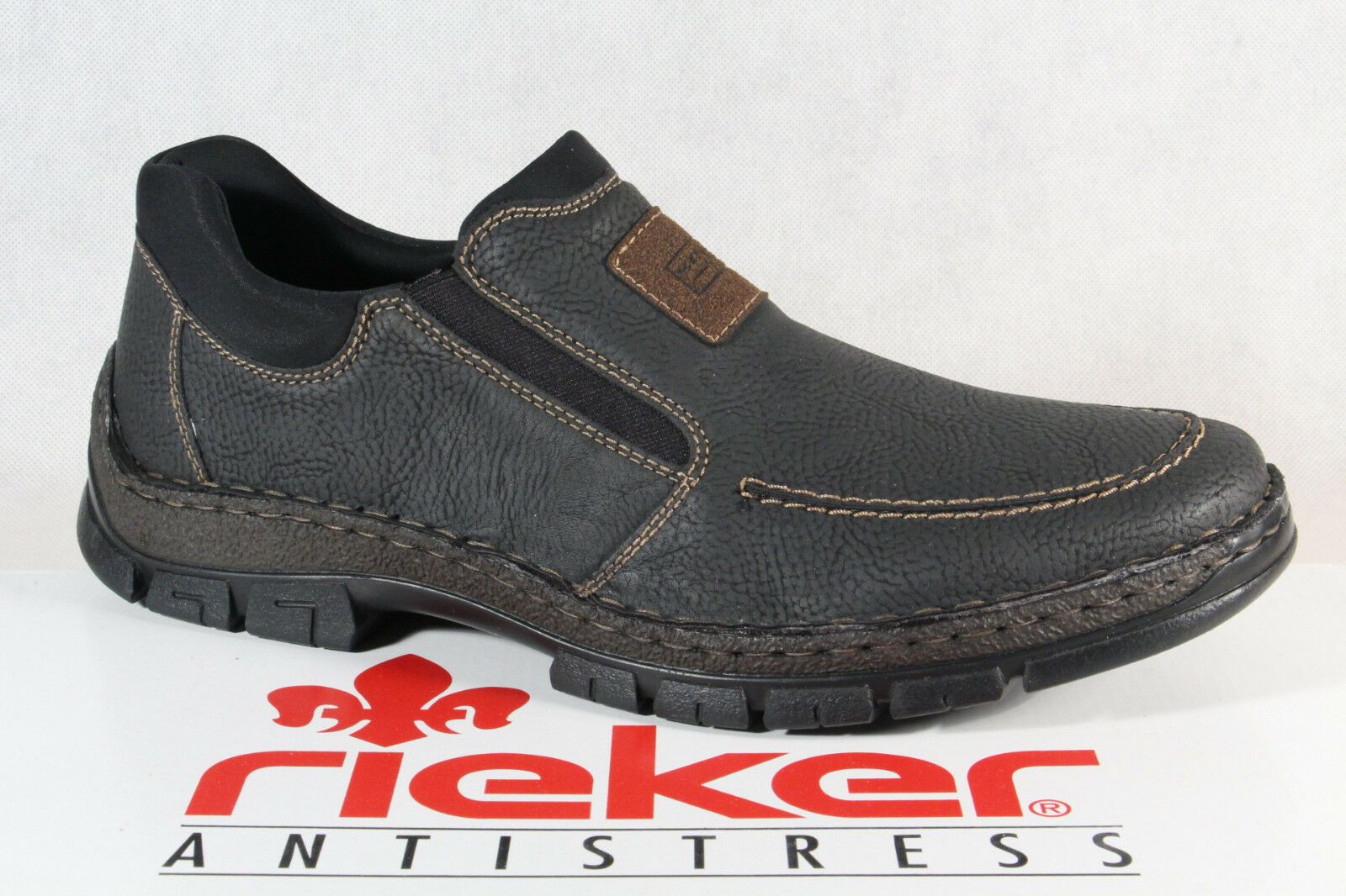 eb065b7723 Slip on shoes up Sneaker Brown 12261 New Rieker Lace nnhavm3982 ...