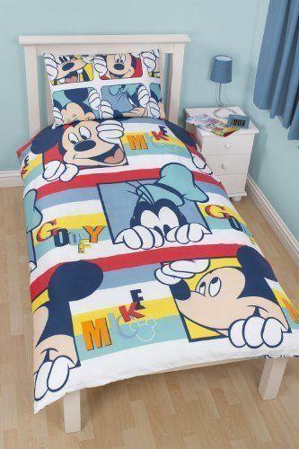 Kid Duvet Cover Set Single Bed For Boy Girl Children Character New Bedding Quilt