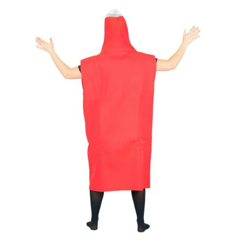 Adult Mens Ladies Womens Funny Food Drink Fancy Dress Costume Outfit Stag Do Hen