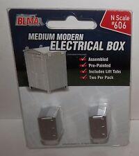 BLMA N Scale Medium Modern Electrical Box #606 NIP