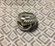 David Yurman Labyrinth ring, size 7