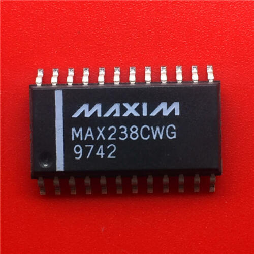 10PCS MAX238CWG Encapsulation:SOP-24,+5V-Powered