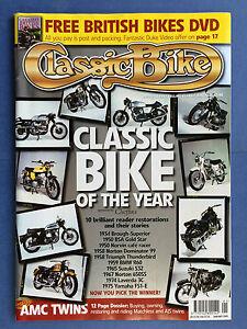 Details about CLASSIC BIKE - January 2005 - 1958 Norton Dominator 99 - 1959  BMW R60 - BSA ZB34