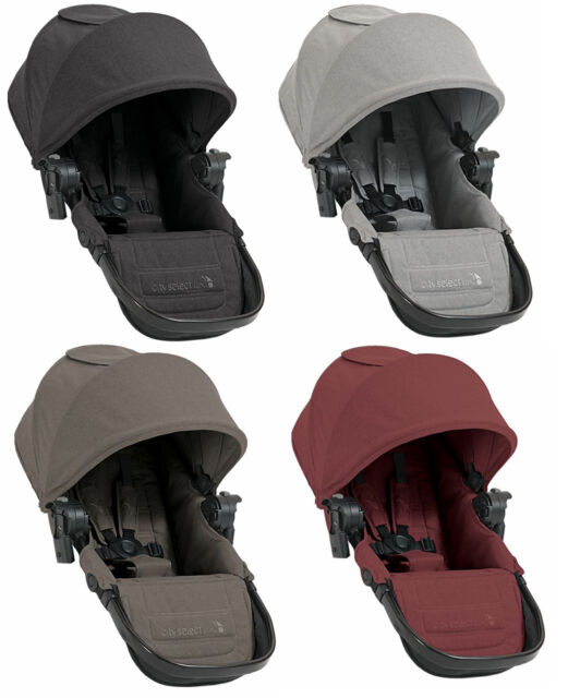 Second Seat Attachment For Baby Jogger City Select Lux Stroller W Adapters