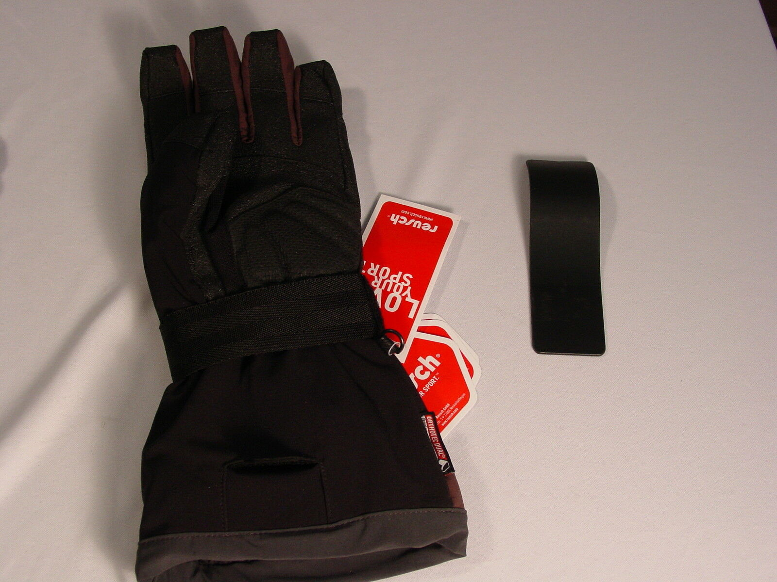 Reusch Wrist Brace Protection Board Softshell Gloves Med 8.5 8.5 8.5 Vert Rtex 2904203 035dc6