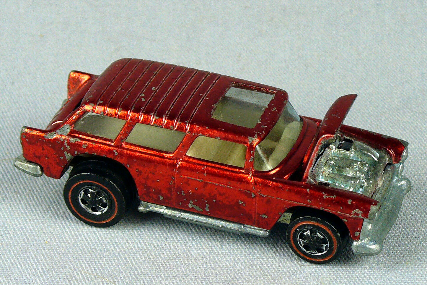 VINTAGE HOT WHEELS REDLINE CLASSIC NOMAD METALLIC RED 1969 USA