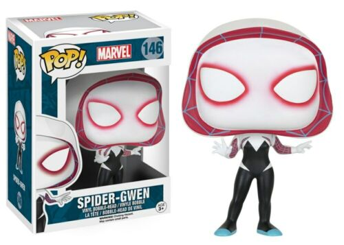 FUNKO POP MARVEL SPIDER WOMAN SPIDER GWEN PVC Action model Figures Toys Gifts
