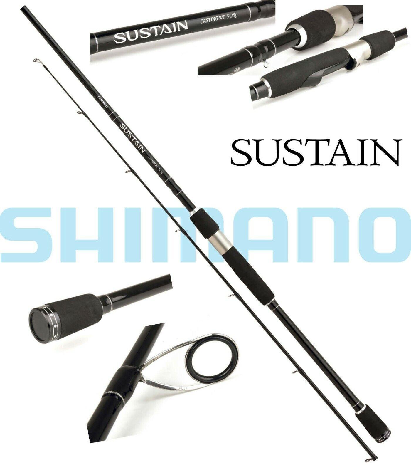 Shimano Sustain Spinning, 2.70m, 7-28g, 2 teiil, Spinnrute, SSUS27728