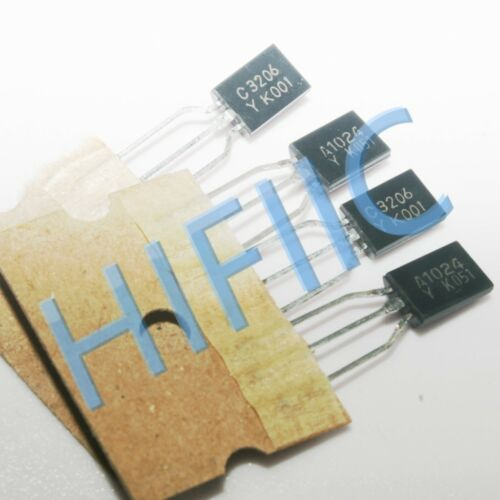 2pairs KTA1024-Y KTC3206-Y A1024 C3206 Transistor