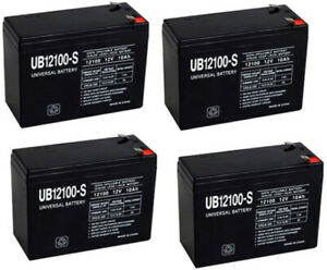Mighty Max 12V 8Ah SLA Battery Replacement for Minuteman CPE3000 - 4 Pack 759478194420   eBay