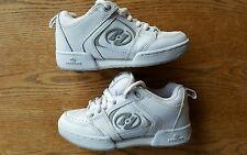 White HEELYS! Roller Shoes #9172 Girls 4 Boys 3