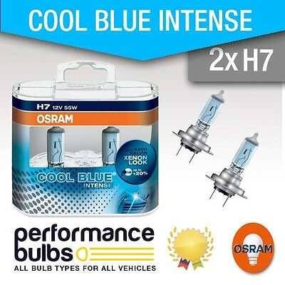 2x Fiat 500 Genuine Osram Cool Blue Intense Low Dip Beam Headlight Bulbs Pair