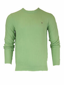 GANT-Paradise-Green-Men-039-s-Cotton-Pique-Crew-80071-NWT