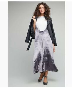 S Anthropologie Bnwt En Maeve Velvet Jupe Taille Silver BWaqwH0