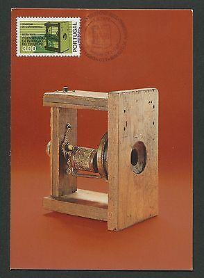 Maximumkarten Briefmarken Portugal Mk 1976 Telefon Graham Bell Phone Maximumkarte Maximum Card Mc Cm D3249 Husten Heilen Und Auswurf Erleichtern Und Heiserkeit Lindern