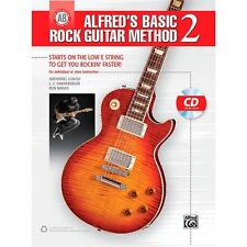 Alfred Alfred's Basic Rock Guitar Method 2 Book & CD ,42286