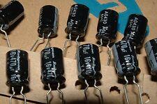 50 x 470uF 16V Rubicon 16yk470mta0811.5 elettrolitico Condensatori YK SERIE