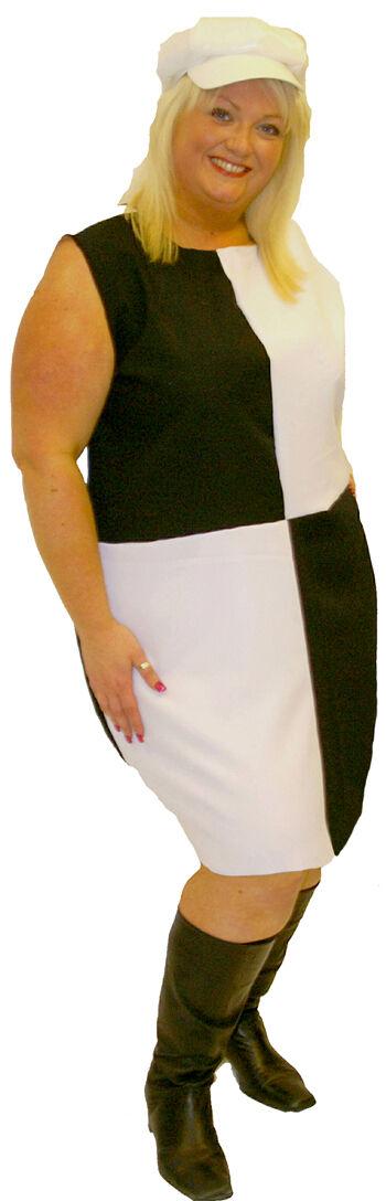 Retro 1960'S Kariertes Kleid Kostüm Alle Damen Damen Damen Größen & Plus    Ausgezeichnete Qualität  17a56d