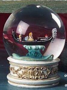 Schneekugel-Venedig-Gondel-Venezia-Italien-Gondola-Snowglobe-Souvenir