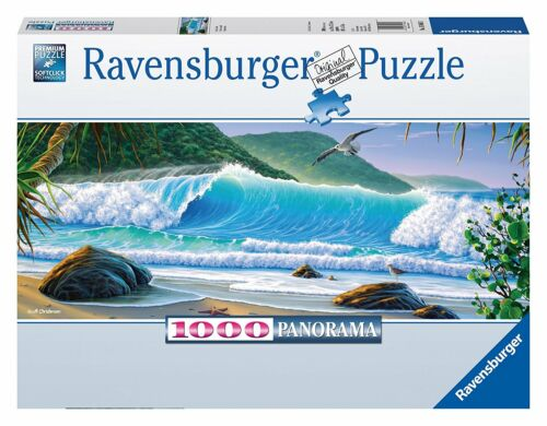 Ravensburger Catch a Wave Panorama Puzzle 1000-Piece