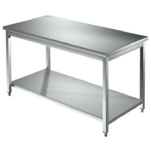 Tabla-de-100x100x85-304-de-acero-inoxidable-sobre-piernas-estanteria-restaurante