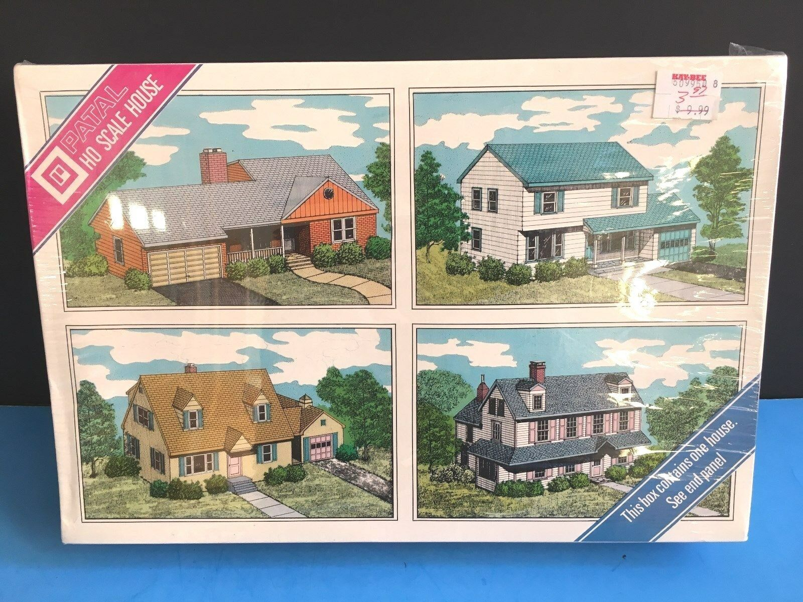 HO 1 1 1 87 Scale Model Building Kit Patal 304 Cape-Cod House   Sellado. 137
