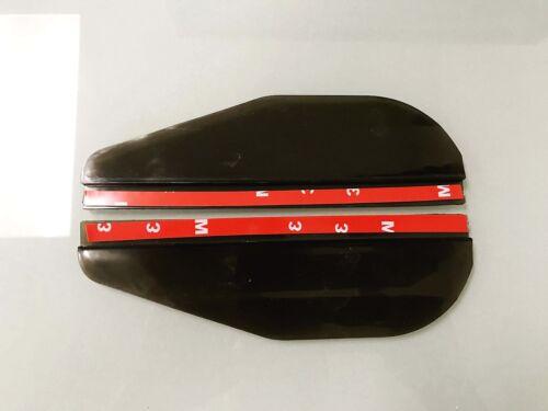 MBZ09-13 2x Black Universal Side Mirror Rain Guard Sun Visor Shade Shield