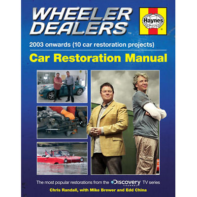 Wheeler Dealers Car Restoration Manual by Haynes