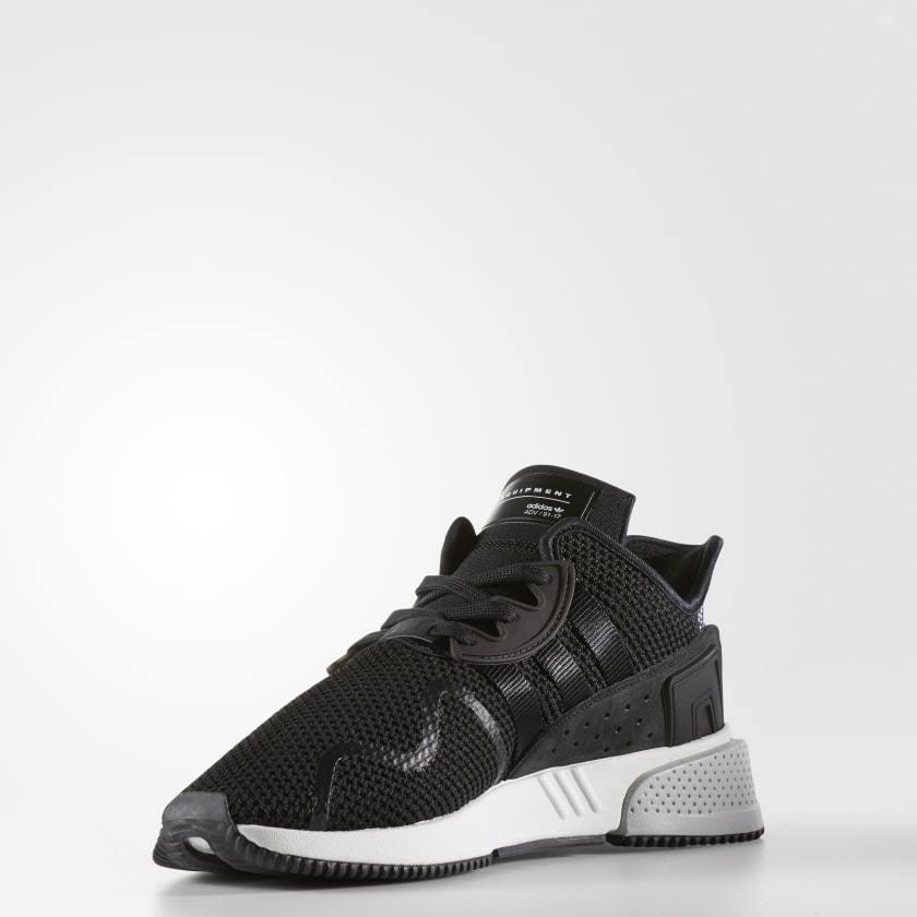 Adidas Originals ADV Para Hombre EQT Cojín ADV Originals entrenadores Core Negro/Blanco ce00cf