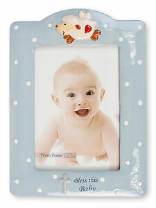 Baby Boy Christening Baptism Blue Porcelain Photo Picture Frame 7 14034 x 9 34034 - Aveley, United Kingdom - Returns accepted Most purchases from business sellers are protected by the Consumer Contract Regulations 2013 which give you the right to cancel the purchase within 14 days after the day you receive the item. Find out more about y - Aveley, United Kingdom
