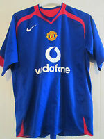 Manchester United 2005-2006 Away Football Shirt Adult Size Large /39677