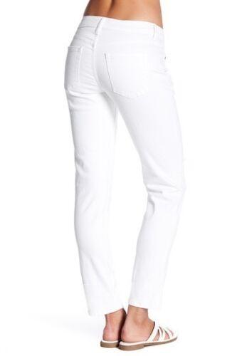 Pants NWT JAG Women/'s Patched Alex Boyfriend White Distressed Jeans