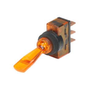 Wippschalter  Schalter ein//aus 12V orange