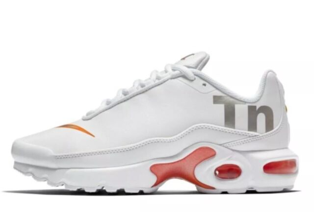 air max plus tn white orange