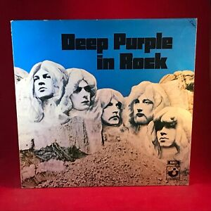 DEEP PURPLE In Rock 1982 UK VINYL LP EXCELLENT CONDITION Fame issue